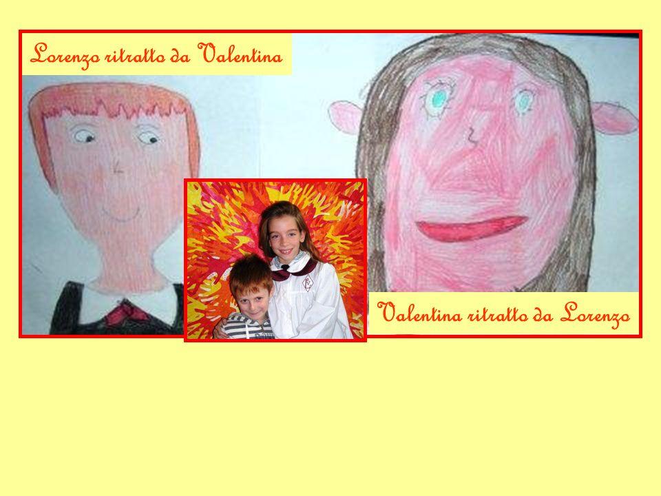 Lorenzo ritratto da Valentina Valentina ritratto da Lorenzo