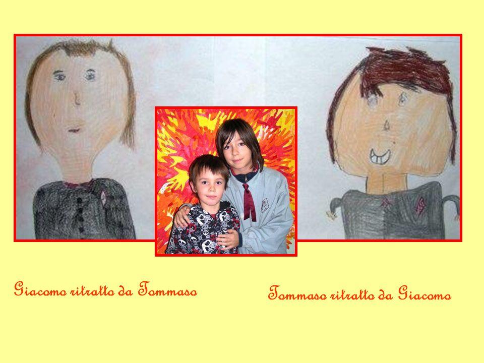 Giacomo ritratto da Tommaso Tommaso ritratto da Giacomo