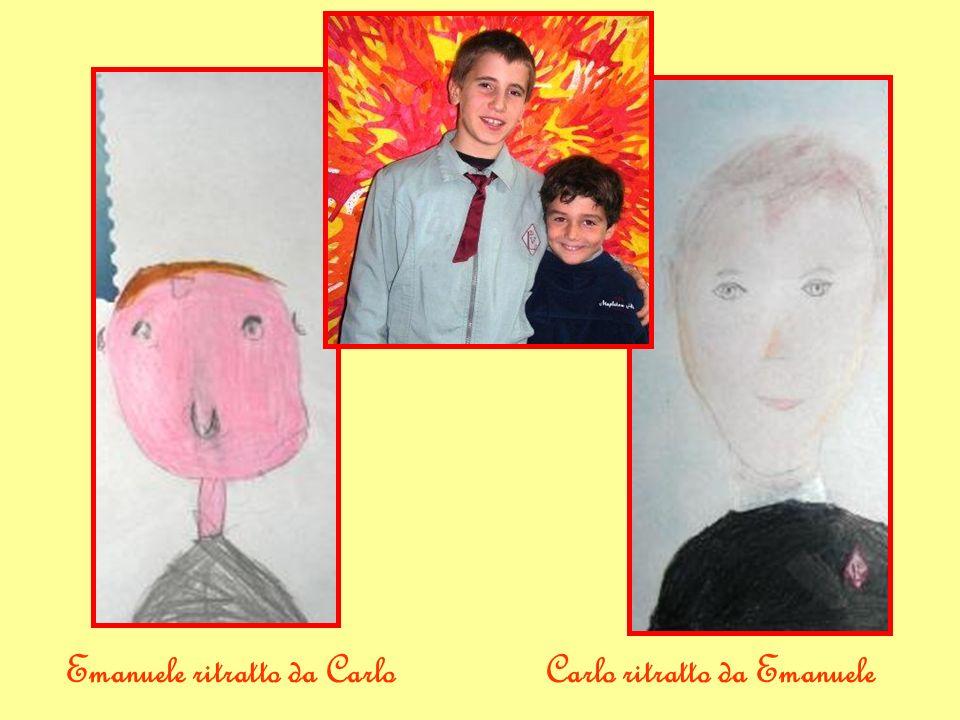 Emanuele ritratto da CarloCarlo ritratto da Emanuele