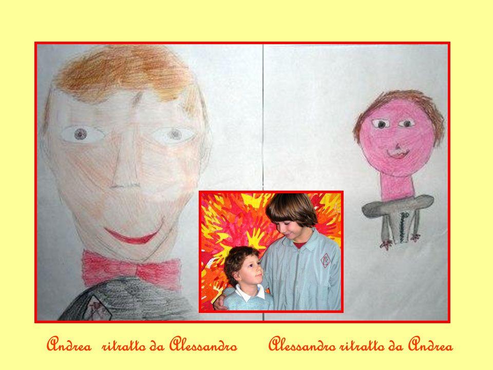 Alessandro ritratto da AndreaAndrea ritratto da Alessandro