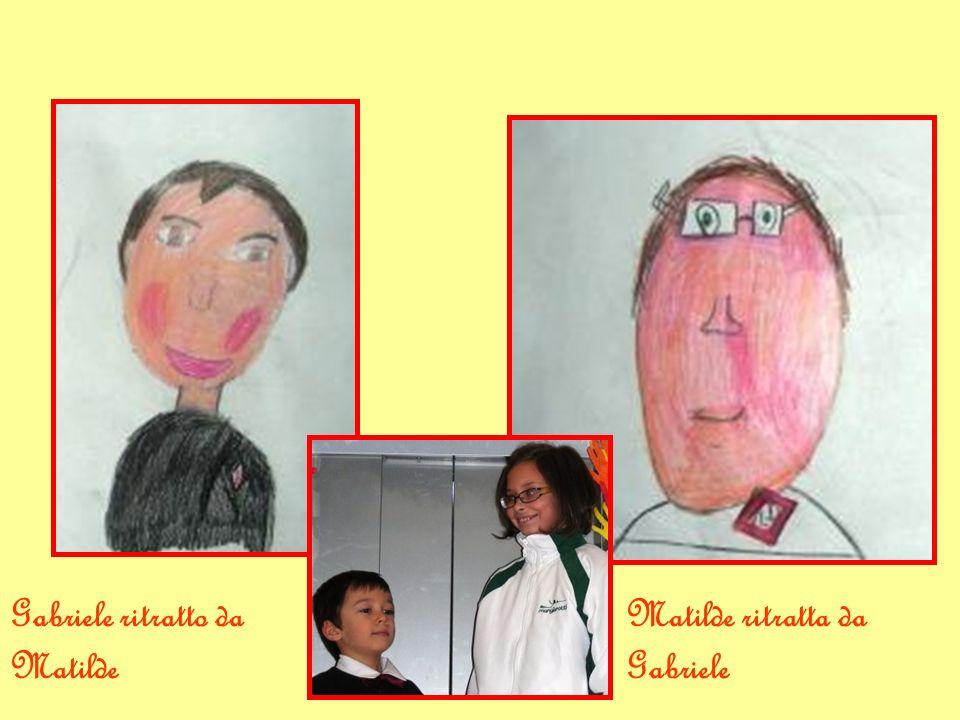 Matilde ritratta da Gabriele Gabriele ritratto da Matilde