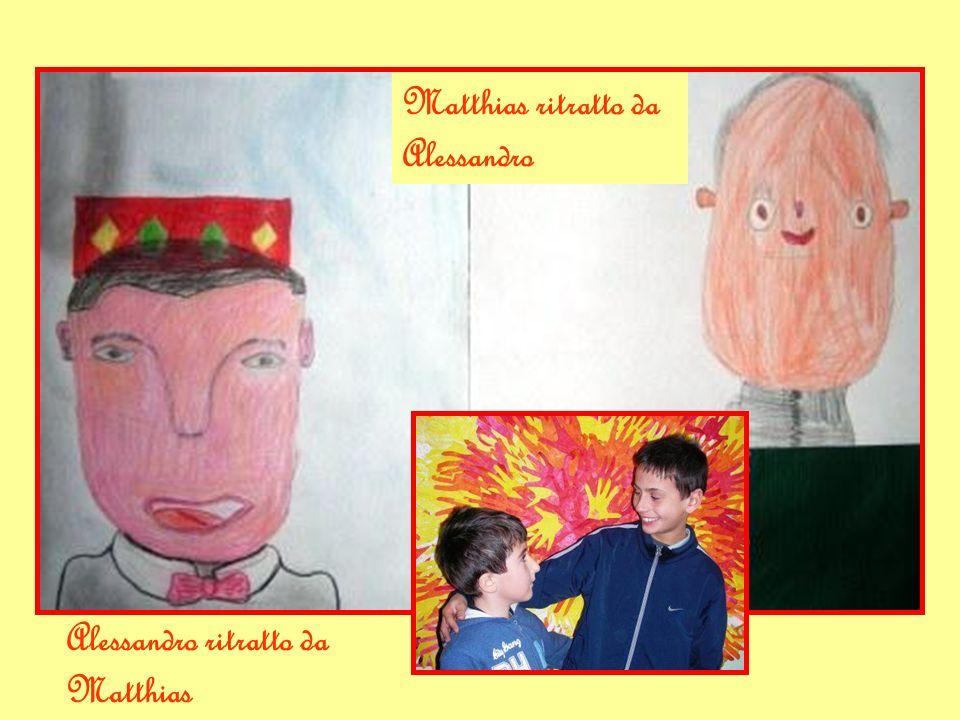 Alessandro ritratto da Matthias Matthias ritratto da Alessandro