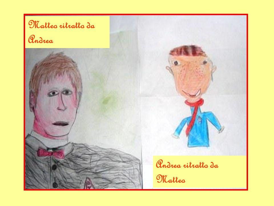 Matteo ritratto da Andrea Andrea ritratto da Matteo