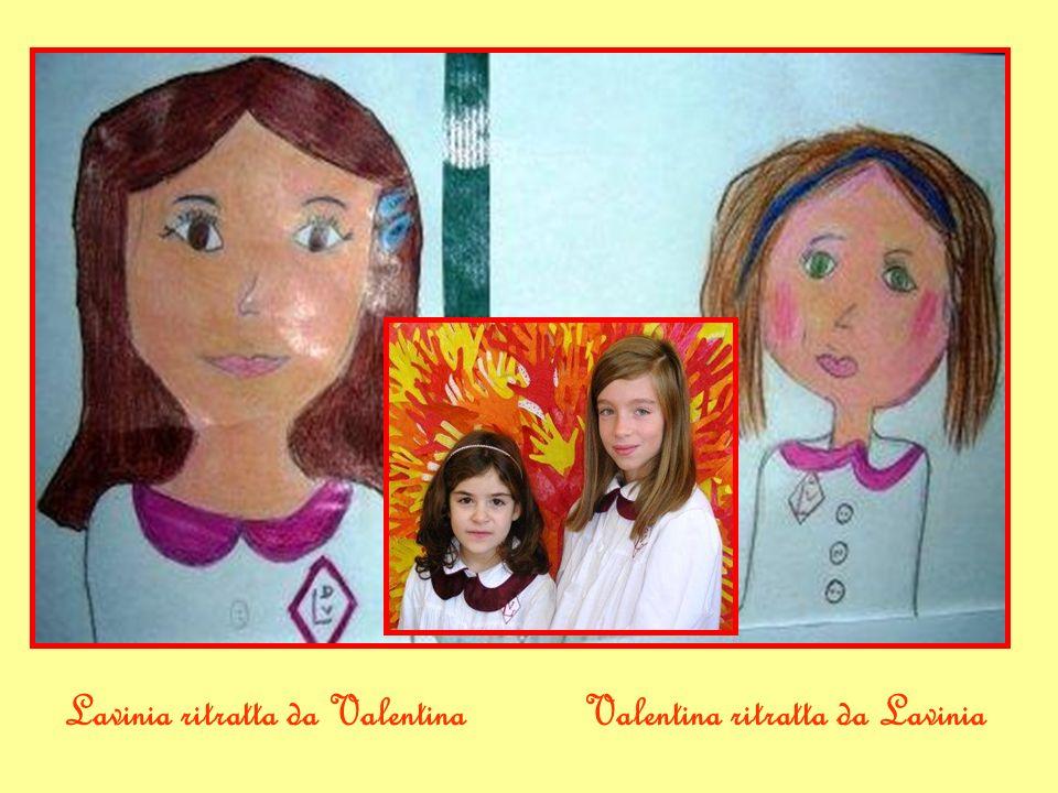 Matilde ritratta da LucaLuca ritratto da Matilde