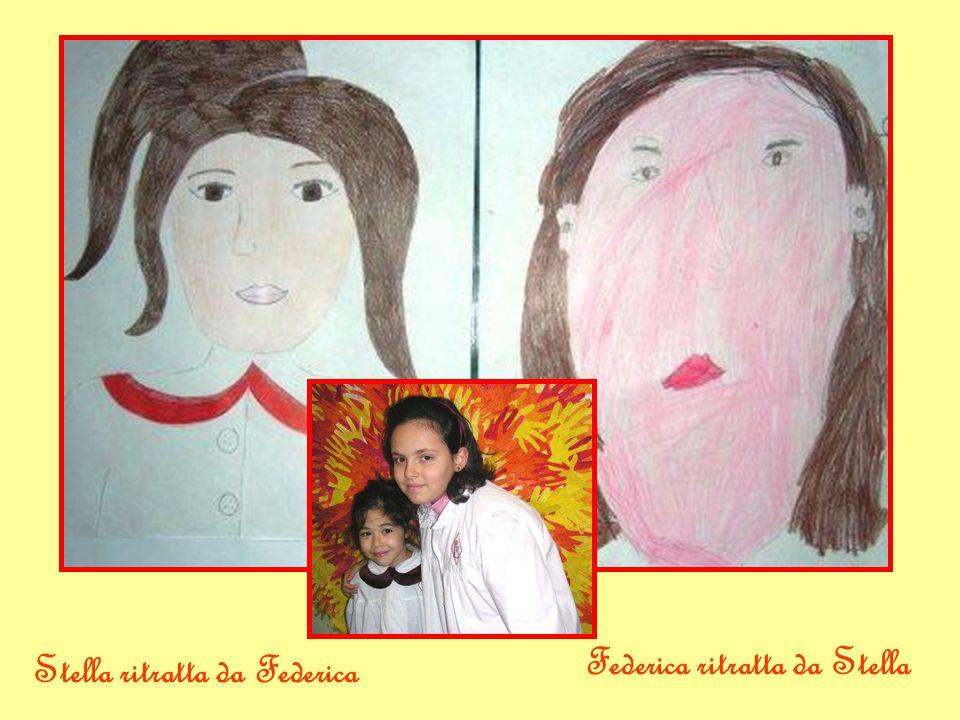 Valentina ritratta da Agnese Agnese ritratta da Valentina
