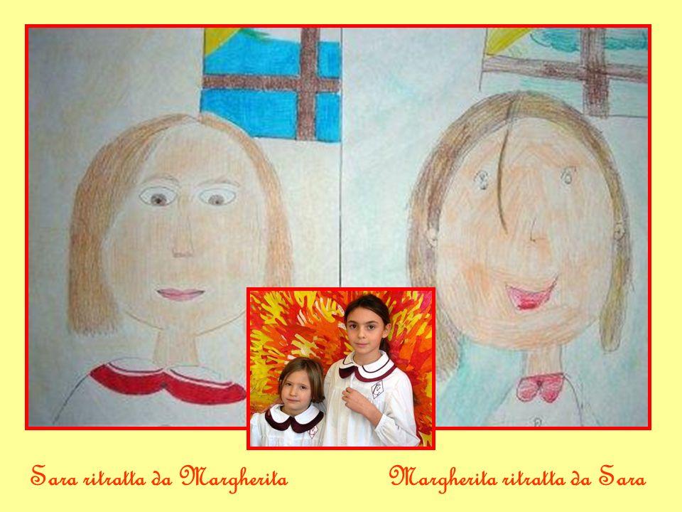 Sara ritratta da MargheritaMargherita ritratta da Sara