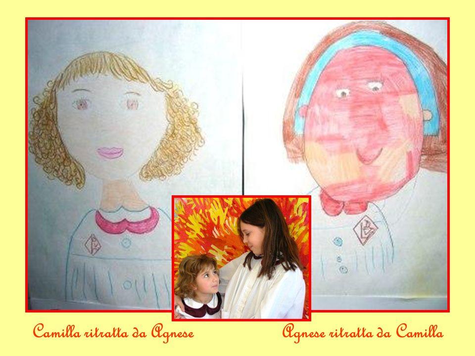 Camilla ritratta da AgneseAgnese ritratta da Camilla