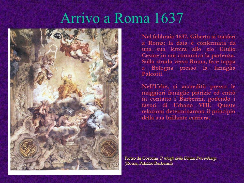 Laurea a Pavia 6 febbraio 1636 Angelo Gallo - Giovanni Paolo Bianchi Allegoria del potere spagnolo 315 x 215 mm.