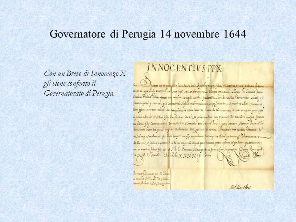 Arrivo a Roma 1637 Nel febbraio 1637, Giberto si trasferì a Roma: la data è confermata da una sua lettera allo zio Giulio Cesare in cui comunica la partenza.