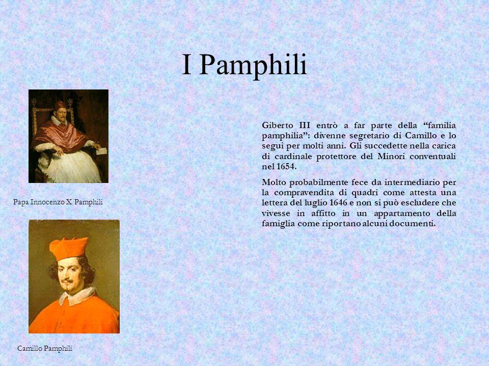 Governatore di Perugia 14 novembre 1644 Con un Breve di Innocenzo X gli viene conferito il Governatorato di Perugia.
