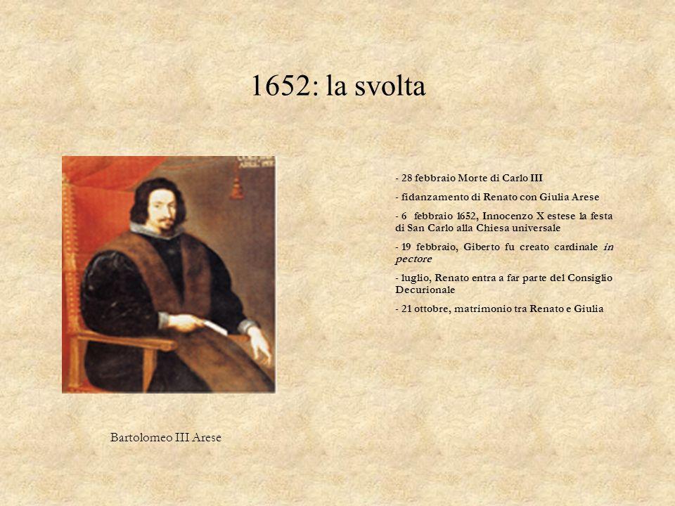 I Pamphili Papa Innocenzo X Pamphili Camillo Pamphili Giberto III entrò a far parte della familia pamphilia: divenne segretario di Camillo e lo seguì per molti anni.