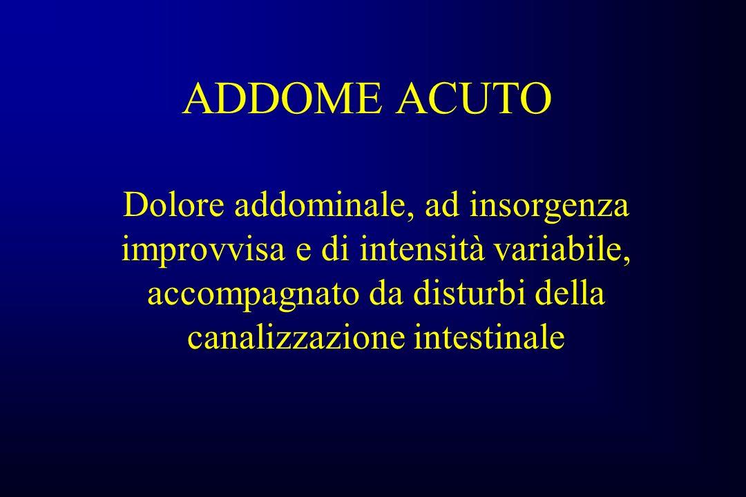 PERITONITI DI ORIGINE INFIAMMATORIA APPENDICITE E.O.
