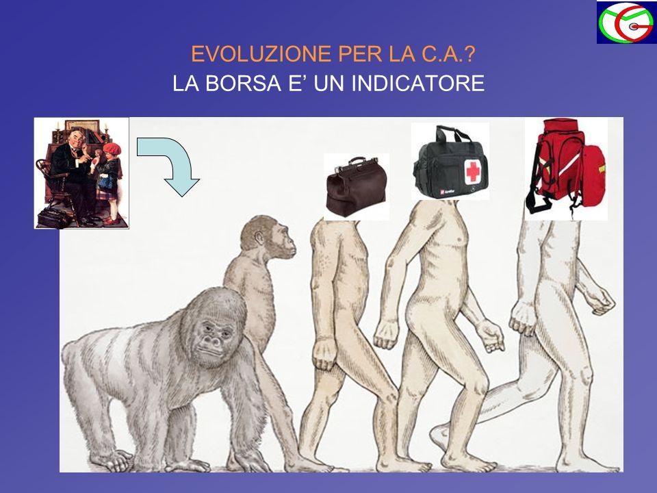EVOLUZIONE PER LA C.A.? LA BORSA E UN INDICATORE