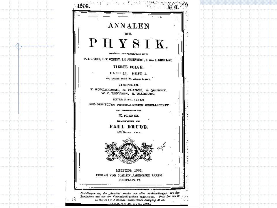 Dall introduzione si intuisce la capacità di Einstein di individuare questioni nuove e fondamentali per una verifica e uno sviluppo dei concetti in fisica.