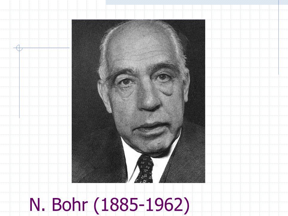 N. Bohr (1885-1962)