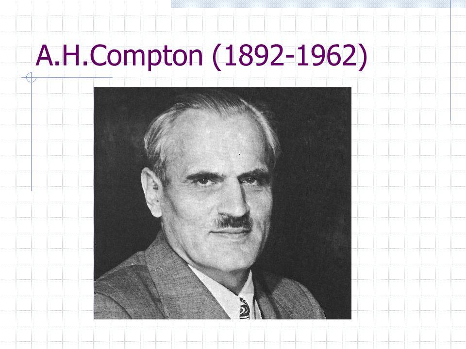 A.H.Compton (1892-1962)