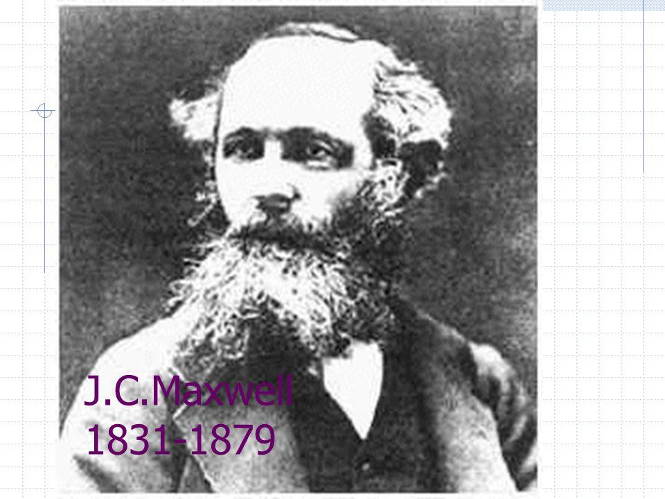 J.C.Maxwell 1831-1879