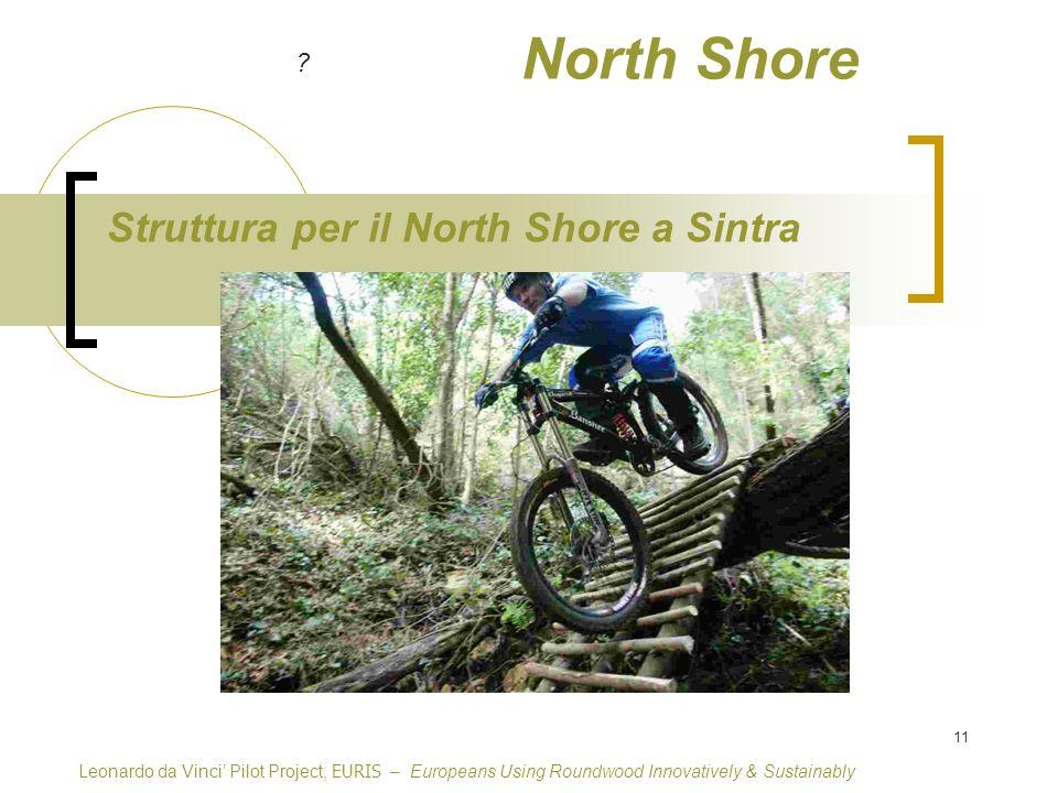 11 North Shore Struttura per il North Shore a Sintra Leonardo da Vinci Pilot Project, EURIS – Europeans Using Roundwood Innovatively & Sustainably ?
