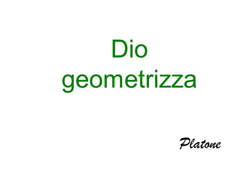 Dio geometrizza Platone
