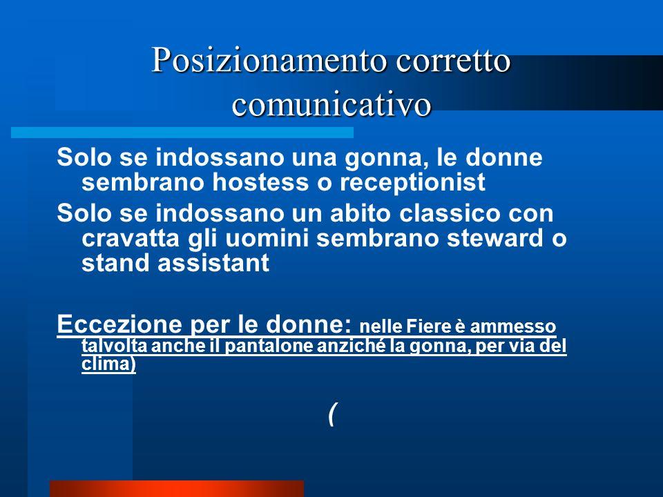 MANSIONI DI STAND ASSISTANT