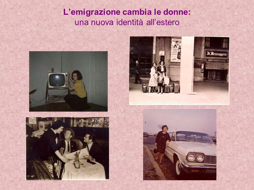 Lemigrazione cambia le donne: una nuova identità allestero