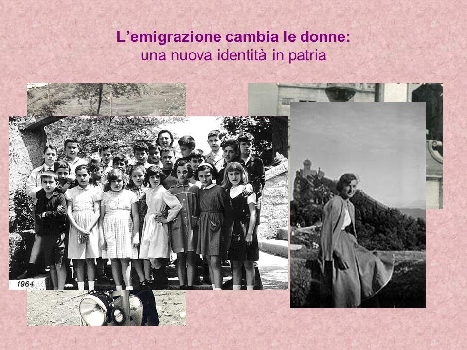 Lemigrazione cambia le donne: una nuova identità in patria