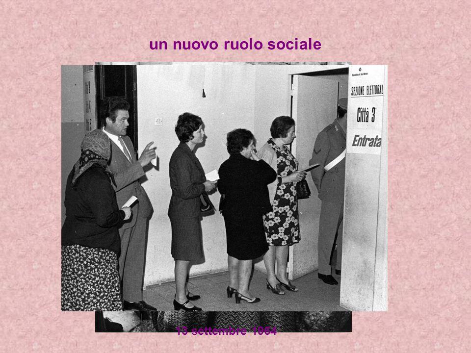 un nuovo ruolo sociale 13 settembre 1964