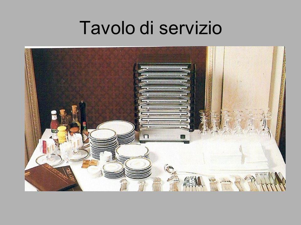 Tavolo di servizio
