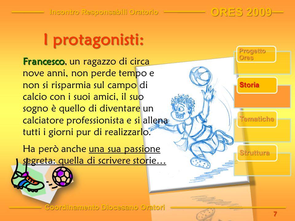 Francesco Francesco, un ragazzo di circa nove anni, non perde tempo e non si risparmia sul campo di calcio con i suoi amici, il suo sogno è quello di diventare un calciatore professionista e si allena tutti i giorni pur di realizzarlo.