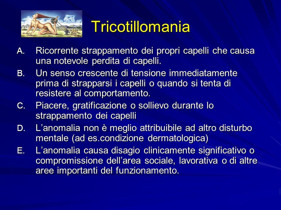 Tricotillomania A.