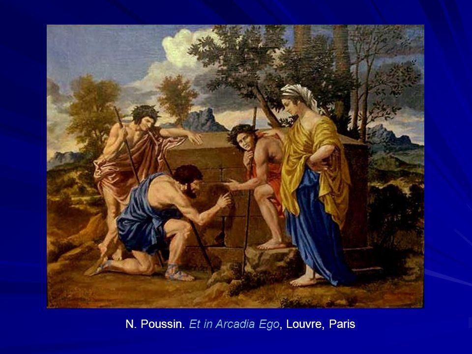 N. Poussin. Et in Arcadia Ego, Louvre, Paris