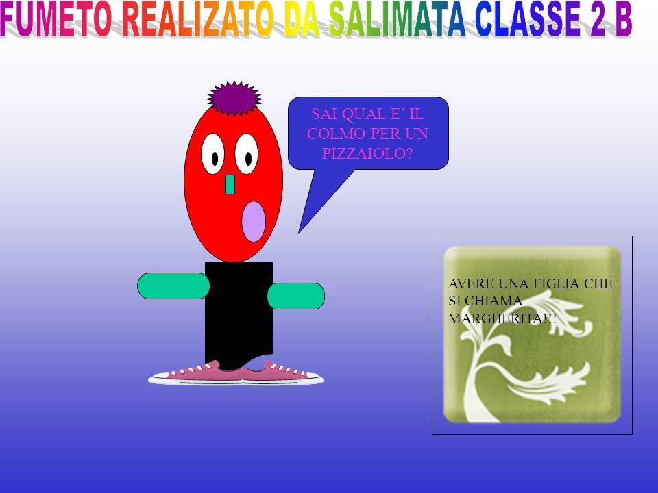 Realizzato da Dario Classe 2°A