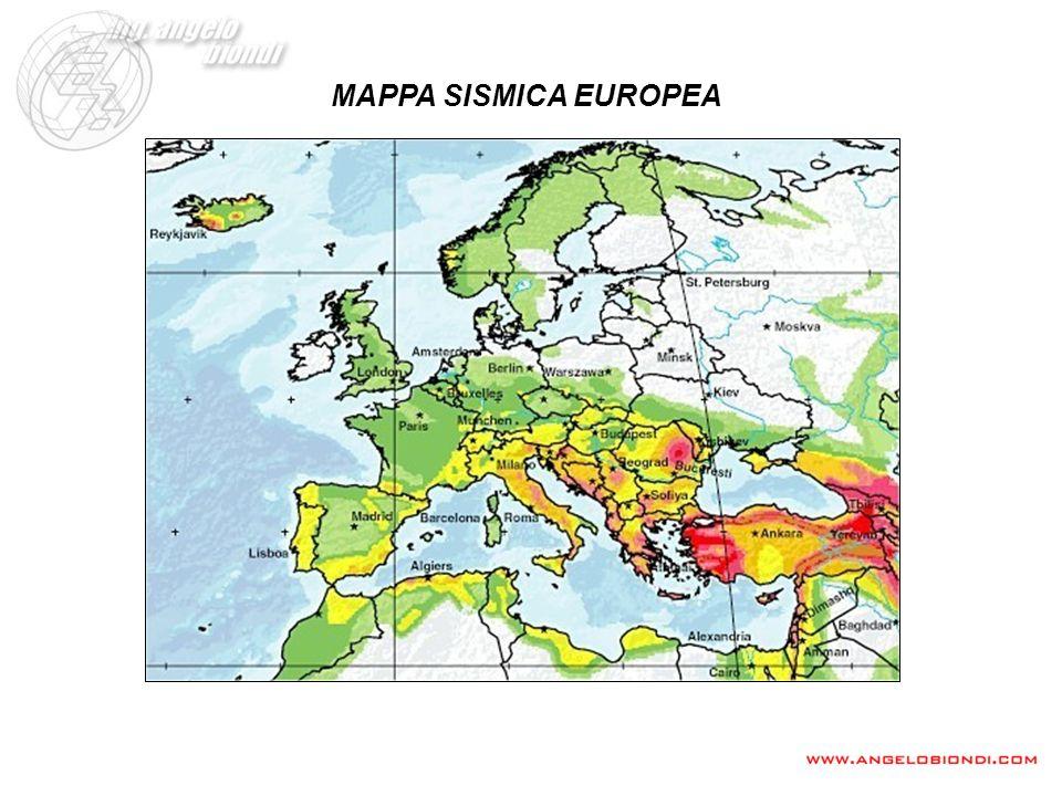 MAPPA SISMICA EUROPEA
