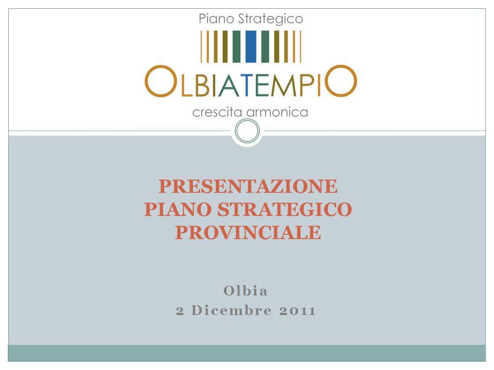 Olbia 2 Dicembre 2011 PRESENTAZIONE PIANO STRATEGICO PROVINCIALE