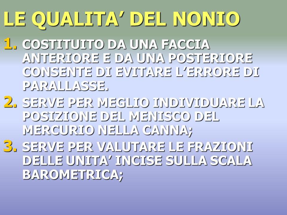 LE QUALITA DEL NONIO 1.