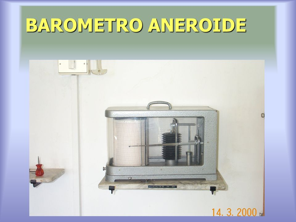 BAROMETRO ANEROIDE