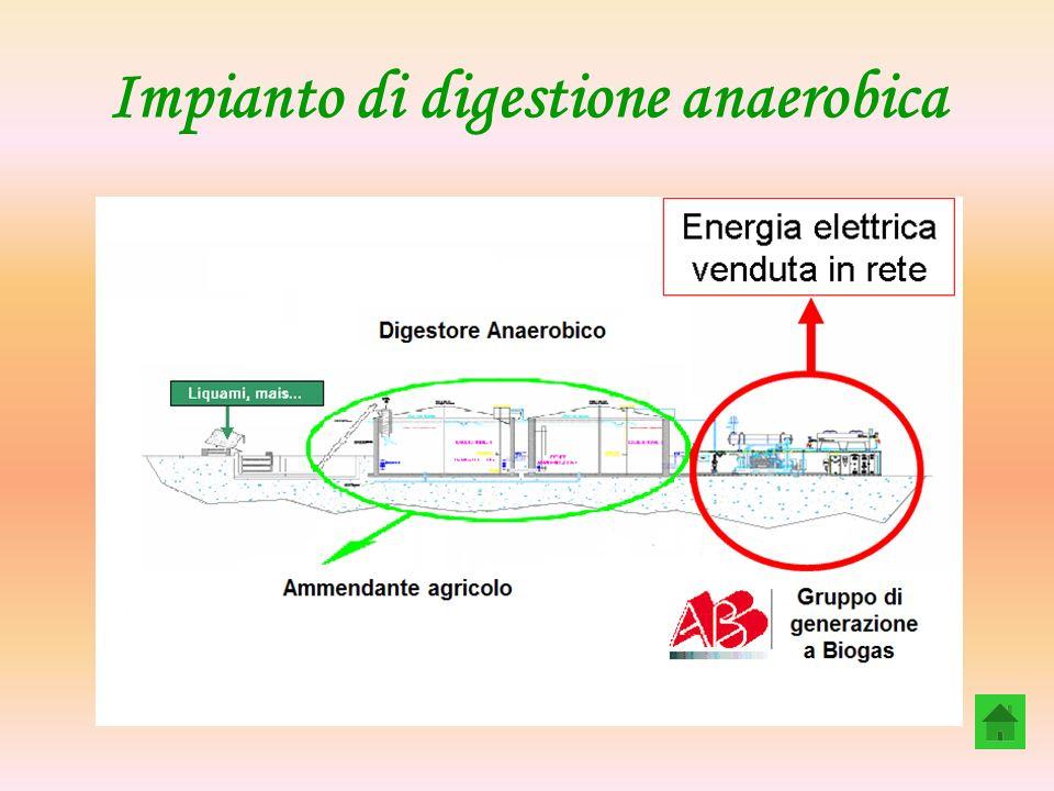 Impianto di digestione anaerobica