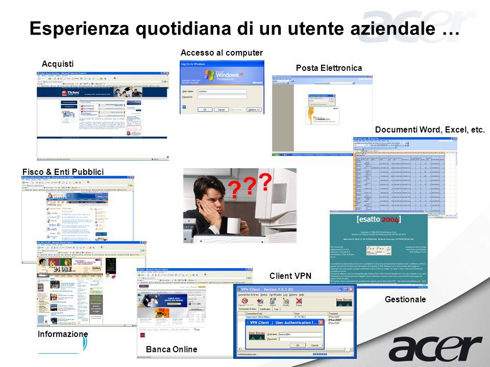 Ottobre 2006 – Pag. 7 Accesso al computer Posta Elettronica Documenti Word, Excel, etc.