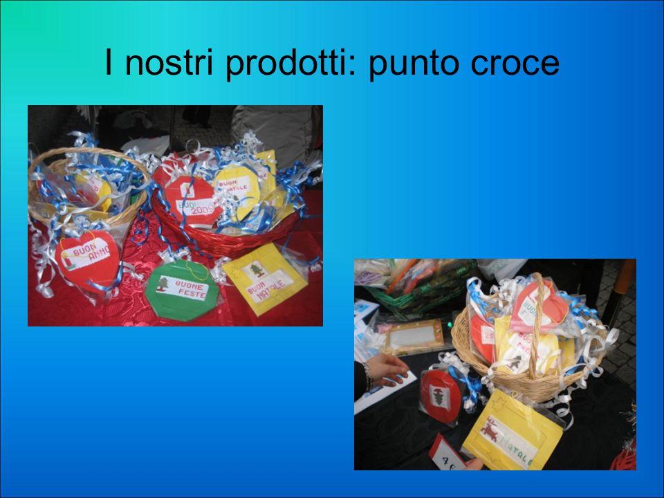 I nostri prodotti: punto croce