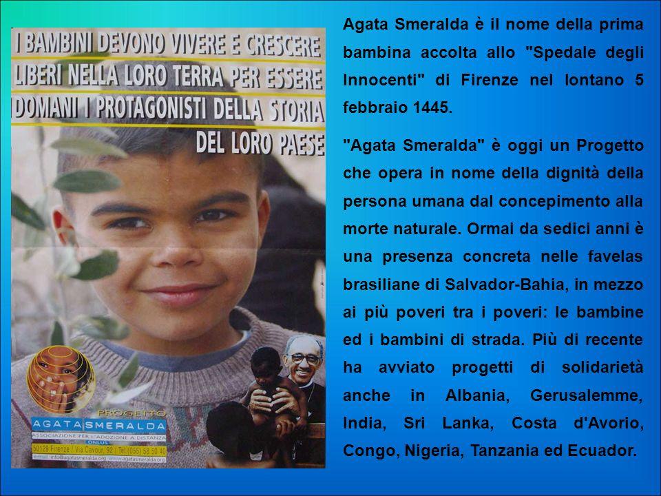 Agata Smeralda è il nome della prima bambina accolta allo