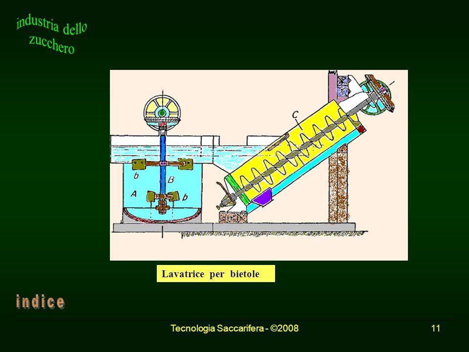 Tecnologia Saccarifera - ©200811 Lavatrice per bietole