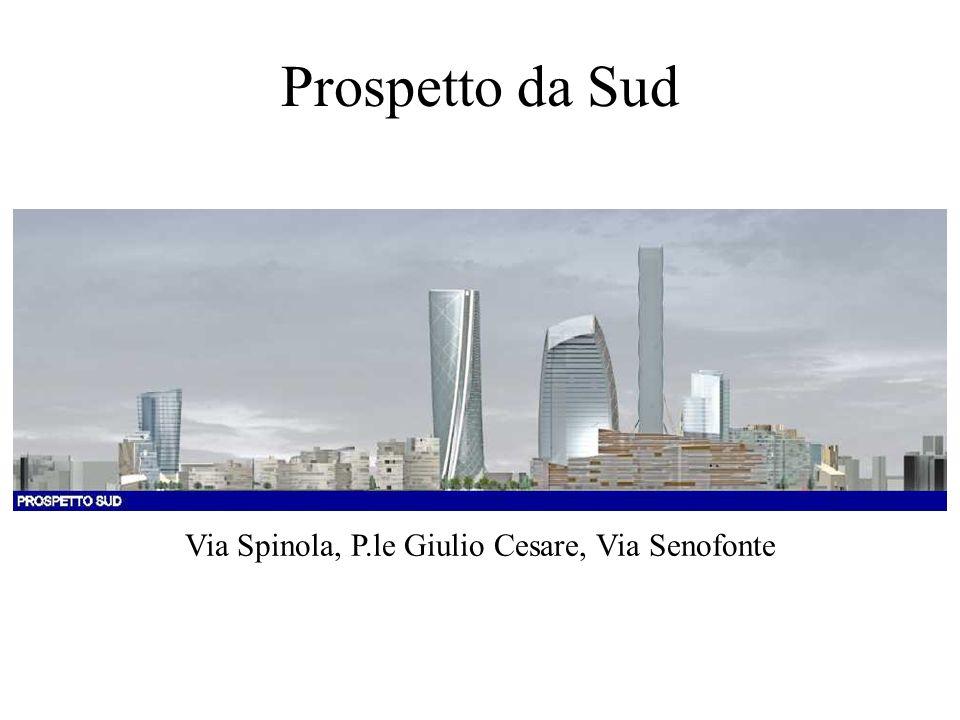 Il parere dei settori comunali VERDE: Il progetto deve tendere ad un maggiore equilibrio tra quantità di costruzioni e quantità di verde previsto, sia in termini di altezza che di estensione.