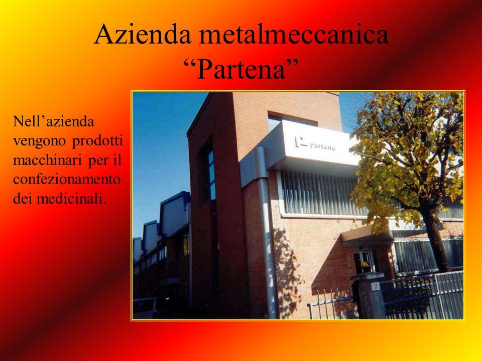 Azienda metalmeccanica Partena Nellazienda vengono prodotti macchinari per il confezionamento dei medicinali.