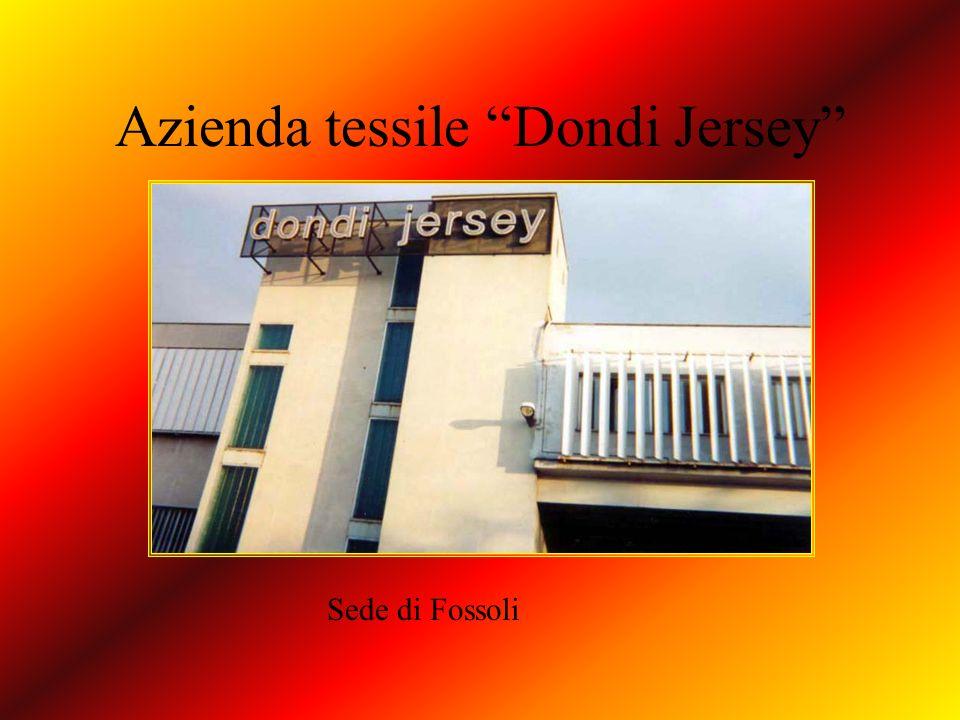 Sede di Fossoli Azienda tessile Dondi Jersey