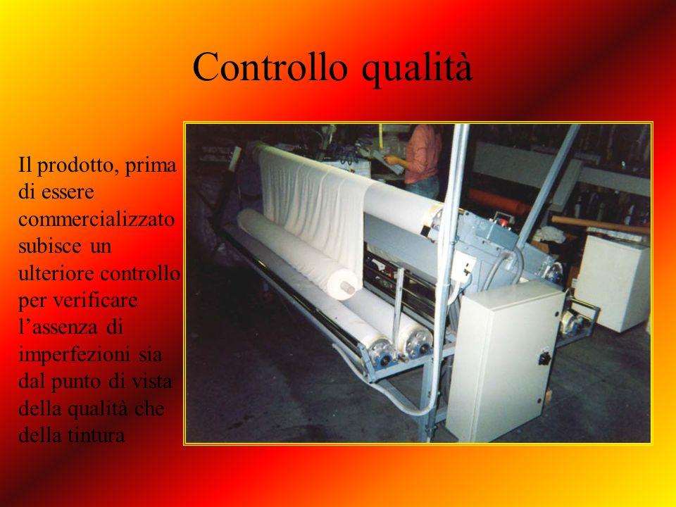 Controllo qualità Il prodotto, prima di essere commercializzato subisce un ulteriore controllo per verificare lassenza di imperfezioni sia dal punto d