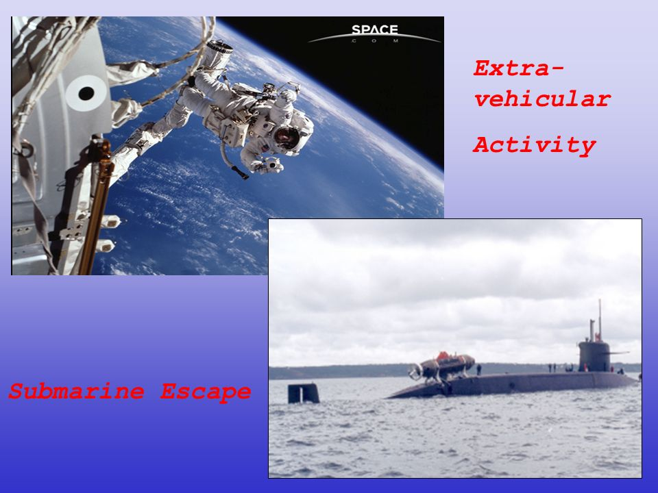 Submarine Escape Extra- vehicular Activity