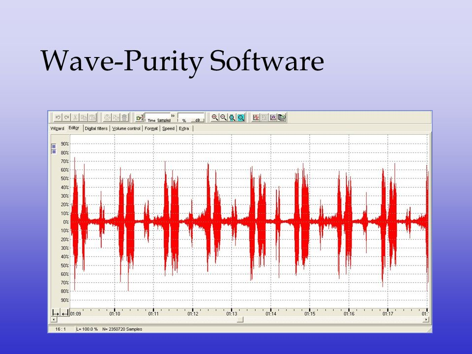 Wave-Purity Software
