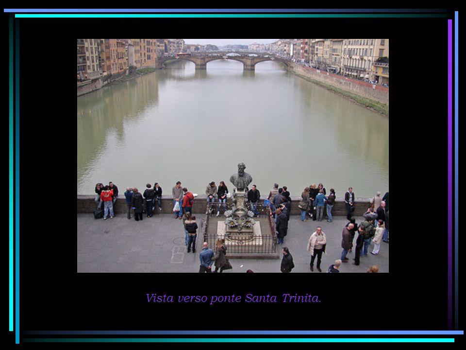 Vista sul lato di Palazzo Pitti.