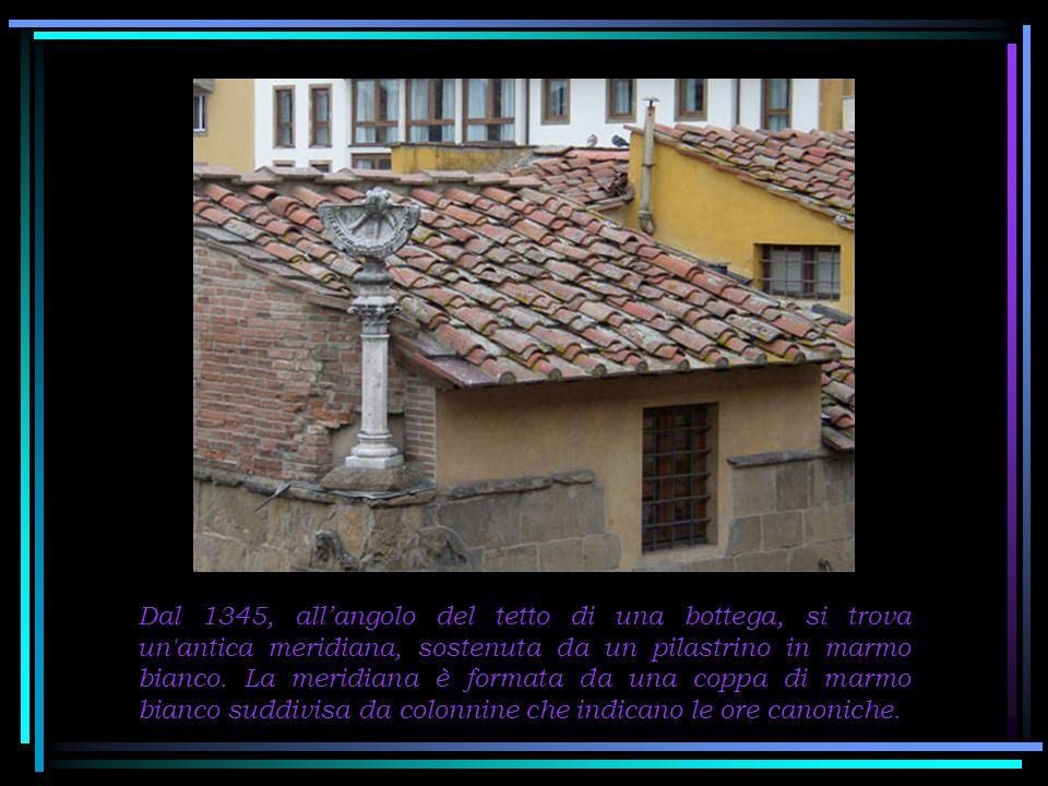 Due terrazzini come questi? Naturalmente sulle botteghe orafe del Ponte Vecchio…