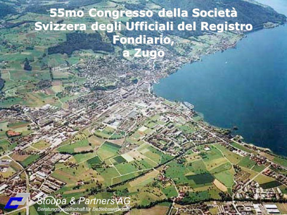 Stoupa & Partners AG Beratungsgesellschaft für Betriebswirtschaft 55mo Congresso della Società Svizzera degli Ufficiali del Registro Fondiario, a Zugo